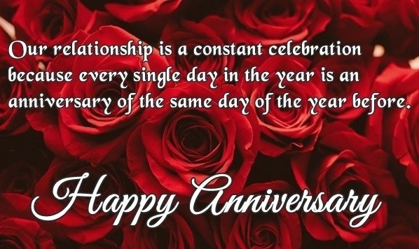 Anniversary quotes love