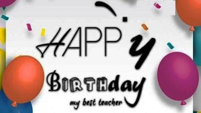 Best Birthday Wishes For Teacher