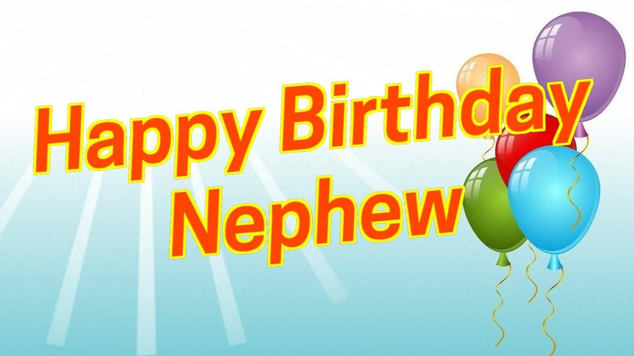 Birthday Wishes For Nephew (Happy Birthday Nephew Funny)
