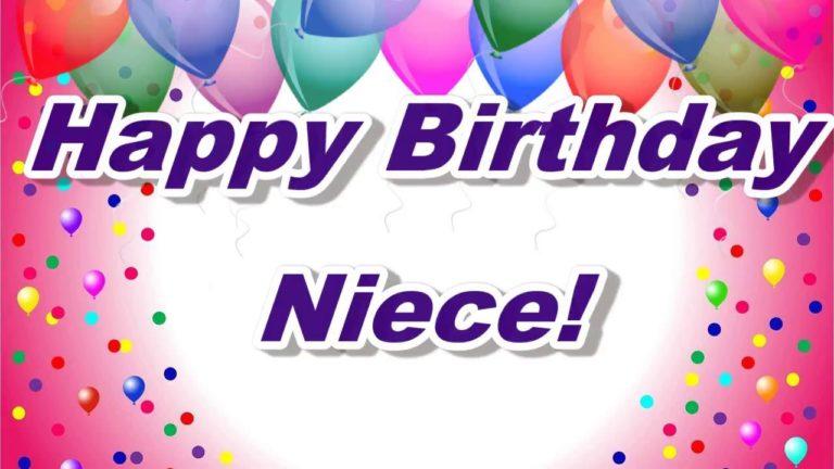 Birthday Wishes For Niece (Happy Birthday Niece Funny)