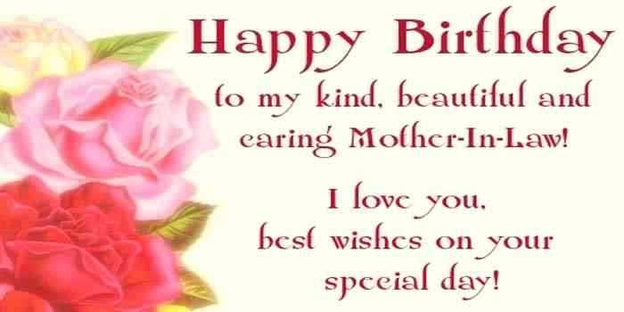 Birthday Wishes to Mother In Law