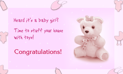 Congratulations To New Parents