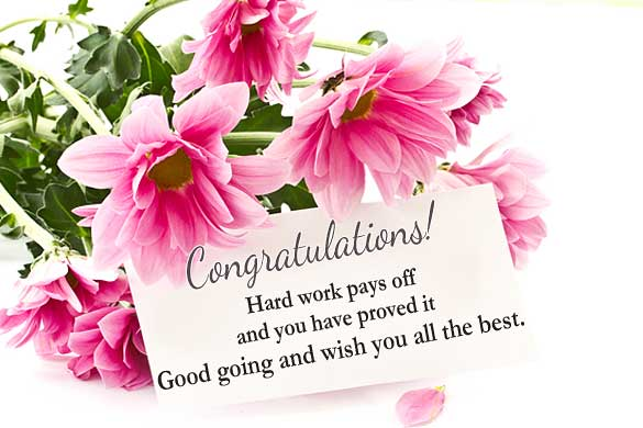 Congratulations Wishes For Promotion Of Colleague
