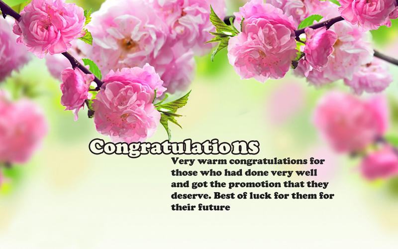 Congratulations to Colleague
