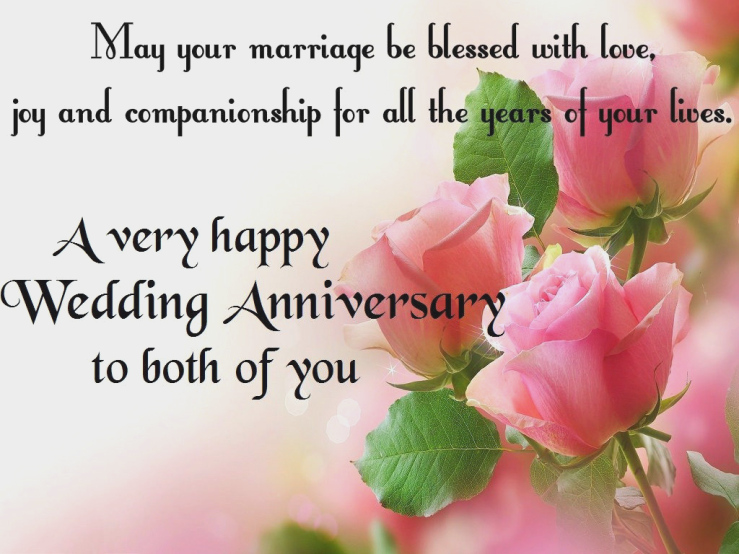 Congratulations to Wedding Anniversary Wishes
