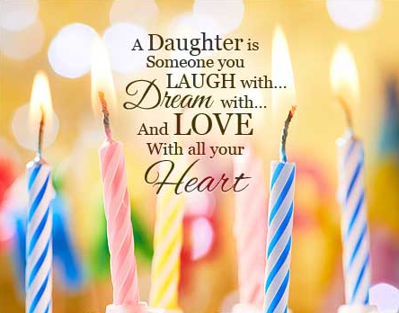 Cutest Happy Birthday Wishes for Daughter