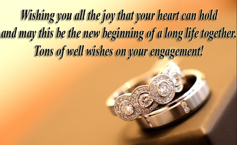 Engagement wishes to sister