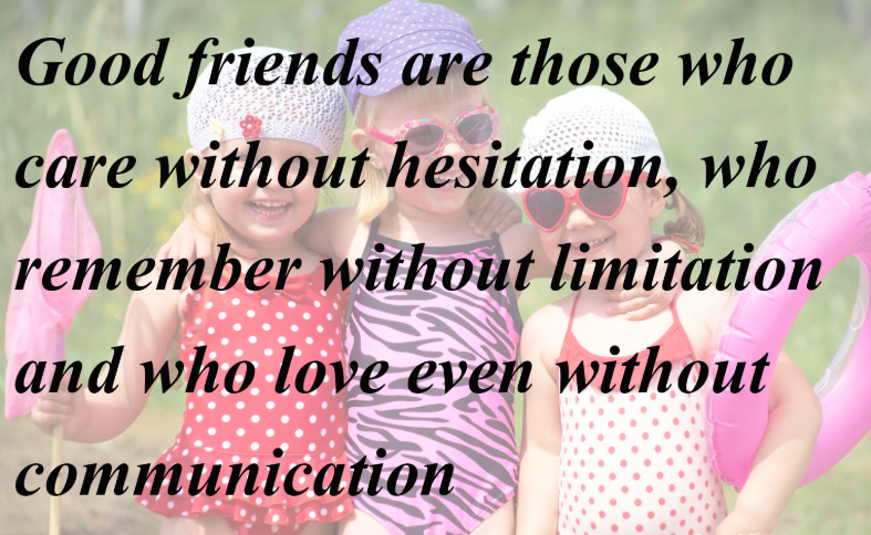 Friendship Quotes About Not Talking