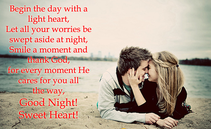 Good Night Messages For Sweetheart