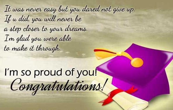 Graduation Messages And Wishes