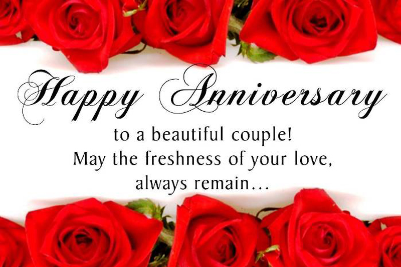 Happy Anniversary Wishes For Friend