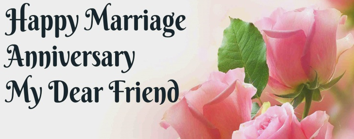 Happy Anniversary Wishes For Friend (Funny Anniversary Wishes To Friends)