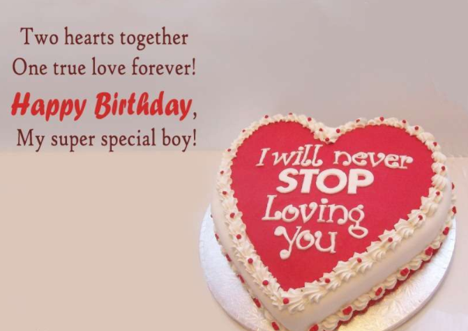 happy birthday wishes to my lover
