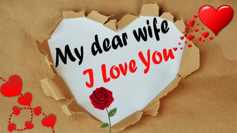 I Love You Messages For Wife (Love Quotes For Wife From Husband)