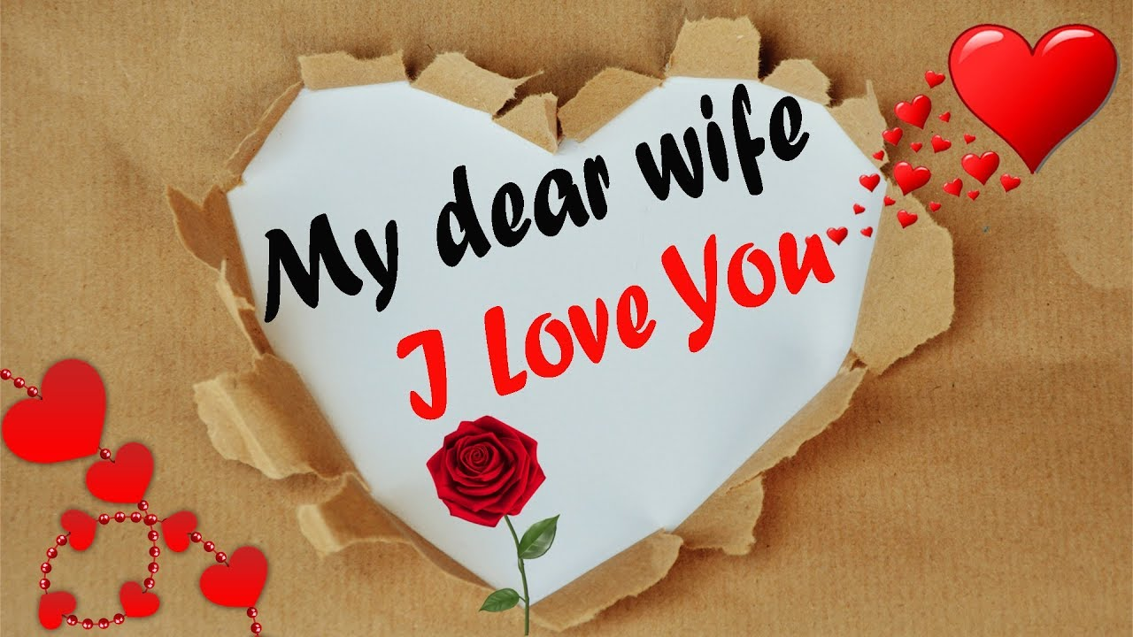 I Love You Messages For Wife