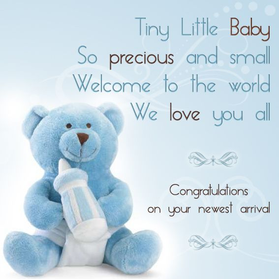 New Baby Congratulations Messages