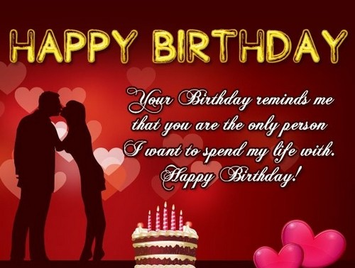 Romantic Birthday Wishes For Lover