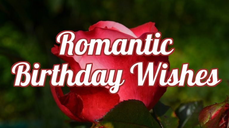 Romantic Birthday Wishes For Lover (Happy Birthday My Love For Him)