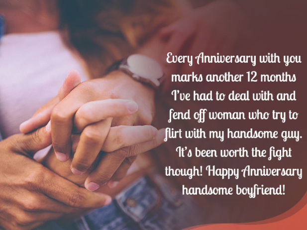 Sweet Anniversary Messages for Boyfriend