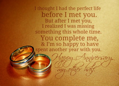 Sweet Happy Wedding Anniversary Wishes and Messages
