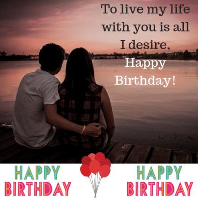 Unique Happy Birthday My Love