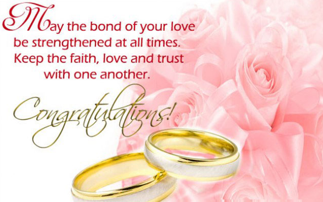 Wish for marriage blessing