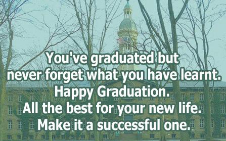Sweet Graduation Messages
