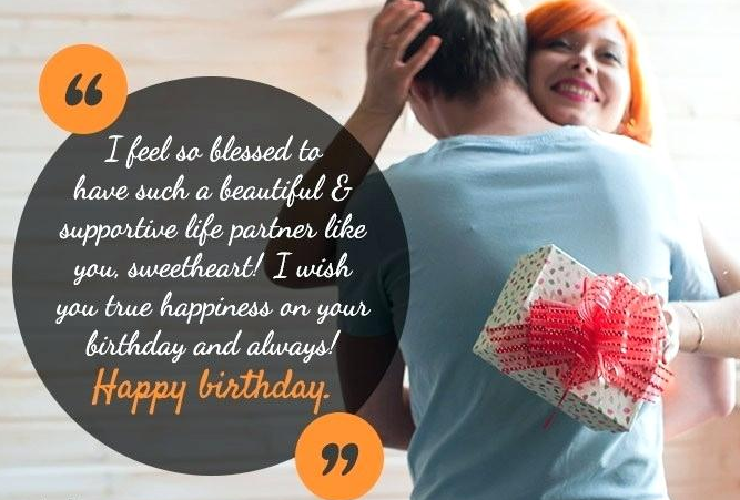 Birthday Wishes For Wife Quotes
