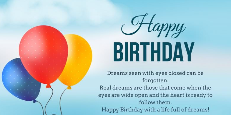 Birthday Wishes For Wife in English
