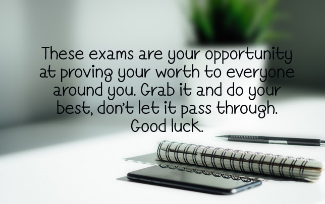 Good Luck Messages For Exams to Girlfriend
