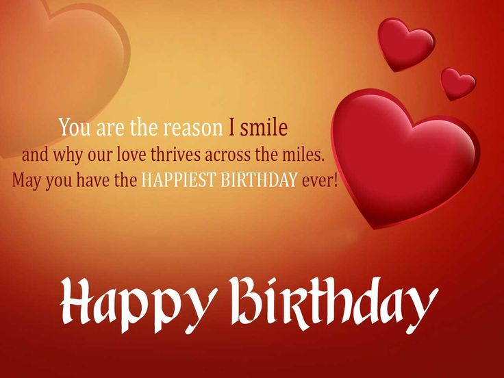Romantic Birthday Messages For Lover