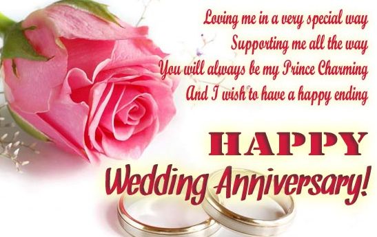 Anniversary wishes for parents in english