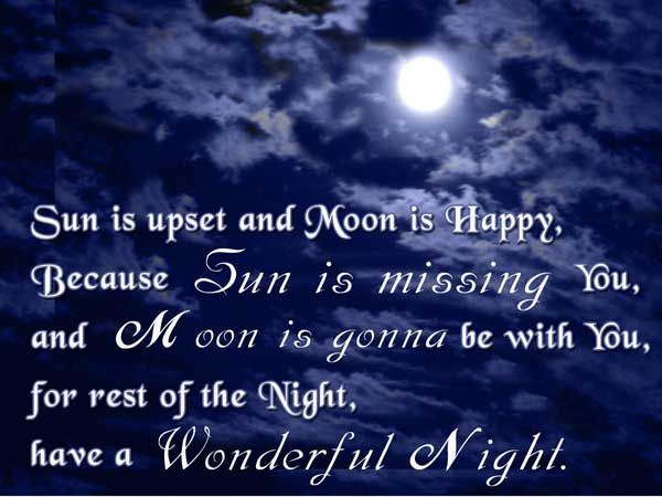 Night Sayings and Night Quotes