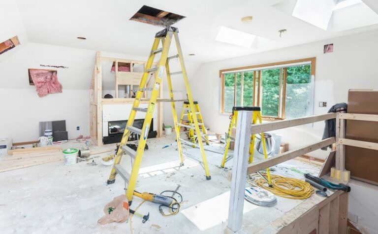 What materials are needed to renovate a house?